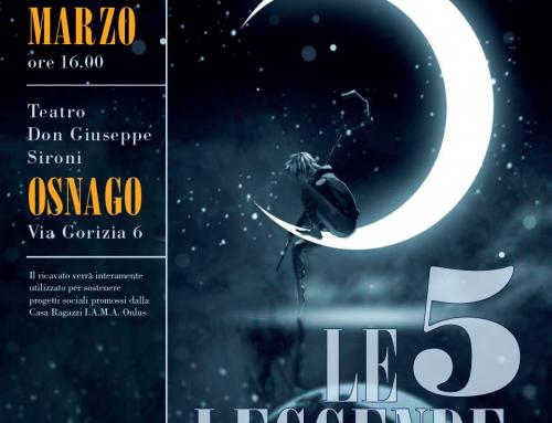 """INVITO – Spettacolo Teatrale """"Le 5 Leggende – il Musical"""""""